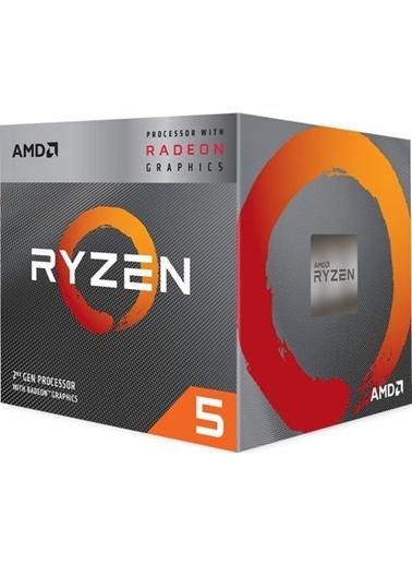 Amd Ryzen 5 3400G 3.7- 4.2GHz 6MB 65W 12NM AM4 CPU Renkli